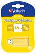 PinStripe USB Drive 16GB - Sunkissed Yellow