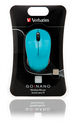 GO NANO Wireless Mouse - Caribbean Blue