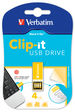 Clip-it USB Drive 4GB Yellow