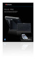 Folio Pro with Bluetooth� keyboard for iPad & iPad 2 - Nordic keyboard