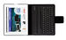 Folio Slim with Bluetooth� keyboard for iPad & iPad 2 - Spanish keyboard
