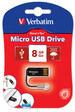 Micro USB Drive 8GB - Black