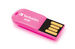 Micro USB Drive 8GB - Hot Pink