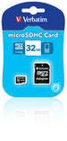 Micro SDHC 32GB - Class 4 with adapter
