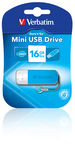 Mini USB Drive 16GB - Caribbean Blue