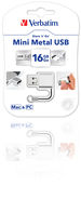 Mini Metal USB Drive 16GB