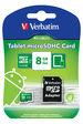 Tablet microSDHC Card 8GB