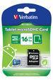 Tablet microSDHC Card 16GB