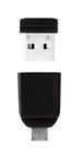 8GB NANO USB Drive with Micro USB (OTG) Adapter