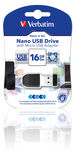 16GB NANO USB Drive with Micro USB Adapter