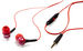Sound Isolating Earphones - Red