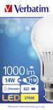 Verbatim LED Classic A B22 14W 2700K 1000lm (52300)