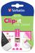 Clip-it USB Drive 8GB Pink