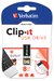Clip-it USB Drive 8GB Black