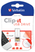 Clip-it USB Drive 8GB White