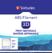 Verbatim ABS Filament 1.75mm 1kg - Natural Transparent
