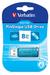 PinStripe USB Drive 8GB - Caribbean Blue