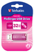 PinStripe USB Drive 32GB - Hot Pink