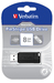 PinStripe USB Drive 8GB - Black