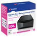 Gigabit NAS External Hard Drive 500GB