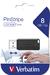 PinStripe USB Drive 8GB - Black