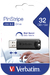 PinStripe USB 3.0 Drive 32GB - Black