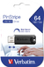 PinStripe USB 3.0 Drive 64GB - Black