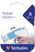Swivel USB Drive 8GB - Caribbean Blue