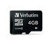 Micro SDHC 4GB - Class 4