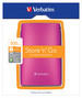 Store 'n' Go USB 2.0 Portable Hard Drive 500GB Hot Pink