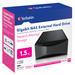 Gigabit NAS External Hard Drive 1.5TB
