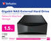 Gigabit NAS External Hard Drive 1.5TB