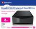 Gigabit NAS External Hard Drive 2TB