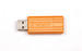 PinStripe USB Drive 4GB - Volcanic Orange