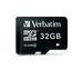 MicroSDHC 32GB - Class 4