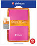 Store 'n' Go USB 3.0 Portable Hard Drive 500GB Hot Pink