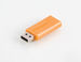 PinStripe USB Drive 8GB - Volcanic Orange