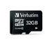 Verbatim Premium U1 MicroSDHC card 32GB