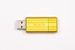 PinStripe USB Drive 8GB - Sunkissed Yellow