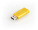 PinStripe USB Drive 16GB - Sunkissed Yellow